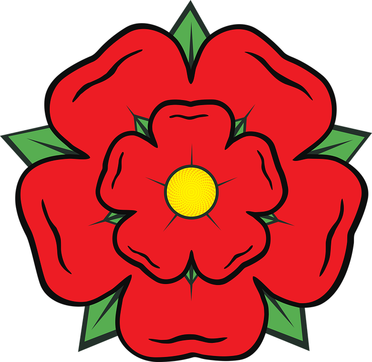 lancashire rose county england free vector graphic on pixabay rh pixabay com rose vector graphics rose vector tutorial