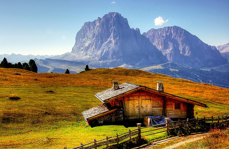 Dolomiti, Montagne, Italia, Alto Adige, Vista, Alpine