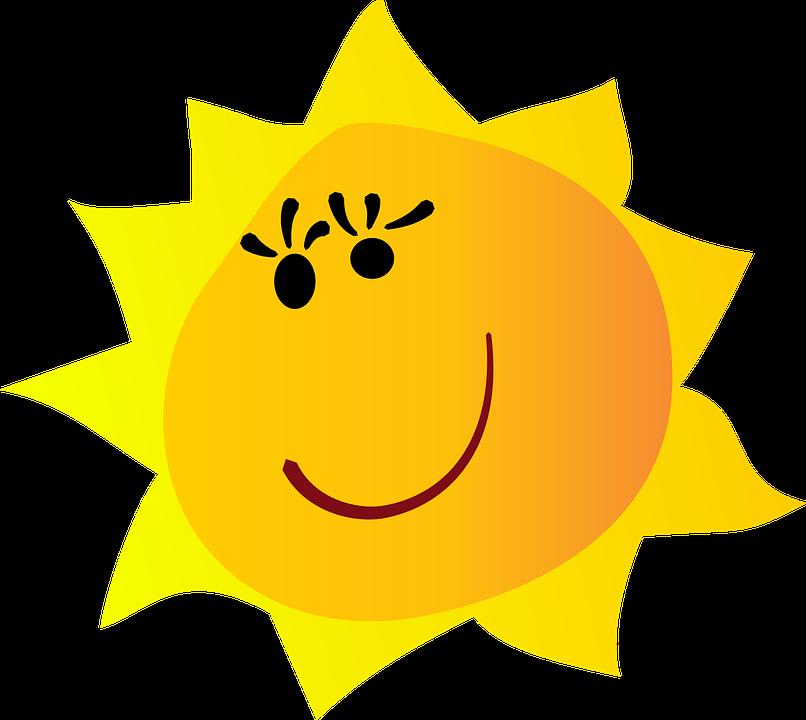 Sol Natur Vektor Gratis Vektorgrafikk På Pixabay