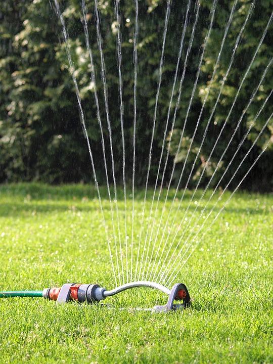 Garden hose hook up