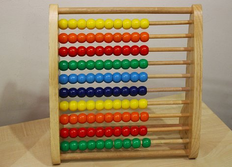 Abacus, Counting Frame, Education, Frame