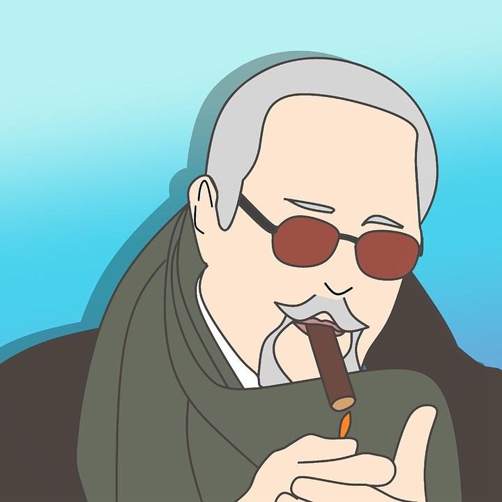 Orang Tua Merokok Rokok Gambar Gratis Di Pixabay