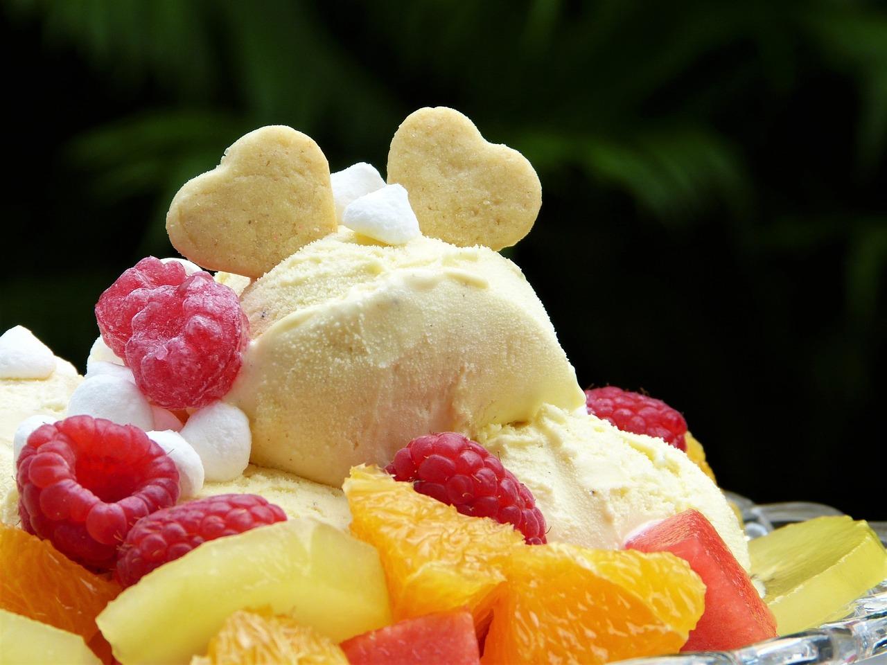 Открытка красивое мороженое
