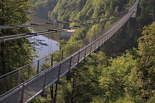 Longest Pedestrian Suspension Bridge