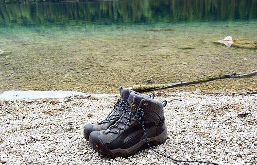 Escursionismo, Scarpe Da Trekking, Lago