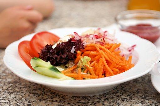 Salad, Frisch, Plate, Salad Plate, Green