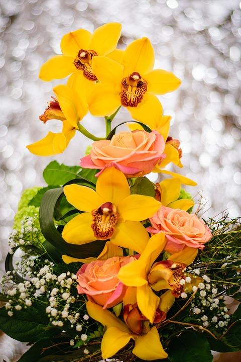 Bunga Karangan Indah Foto Gratis Di Pixabay