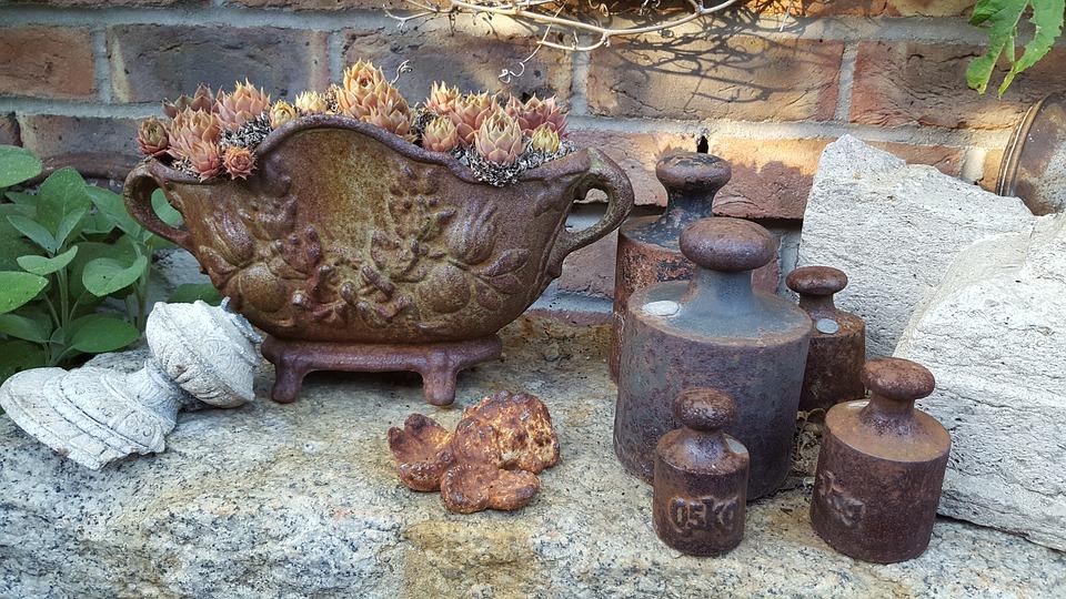 Dekoration Garten Shabby Shick Kostenloses Foto Auf Pixabay