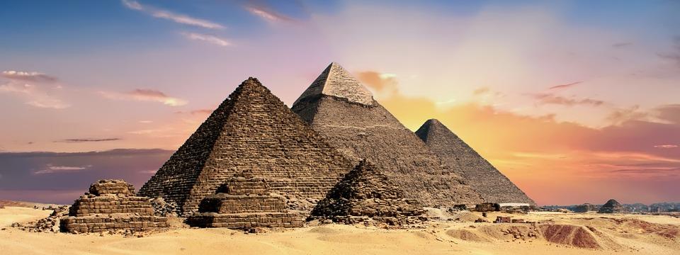 ピラミッド, エジプト, 古代, 砂漠, ギザ, 歴史