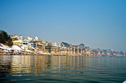 Varanasi, River, India, Religion, Travel