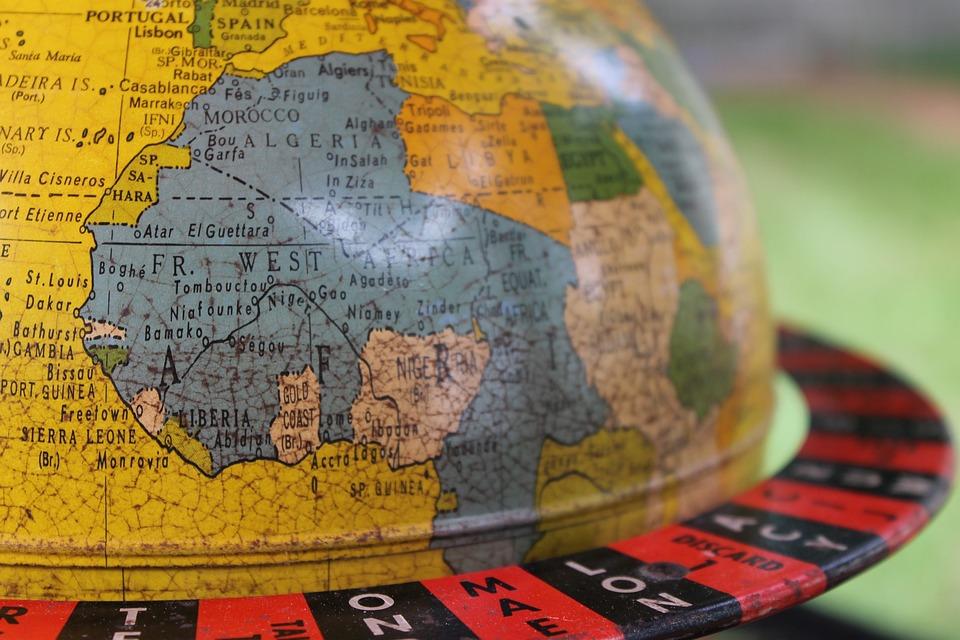 Globe, Vintage, Retro, World, Travel, Map, Earth