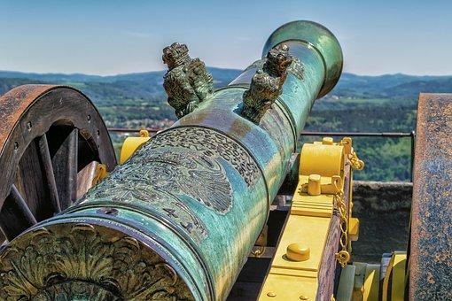 Gun, Historically, Weapon, Fortress