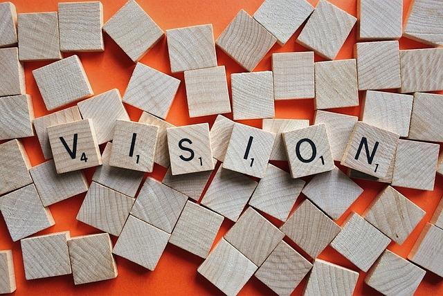 ビジョン, ミッション, 目標, ターゲット, ビジネス, 戦略, 計画