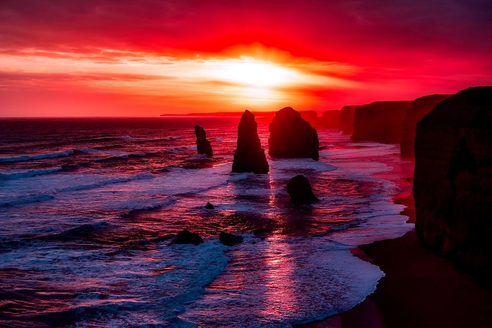 Twelve Apostles Australia Rocks 183 Free Photo On Pixabay