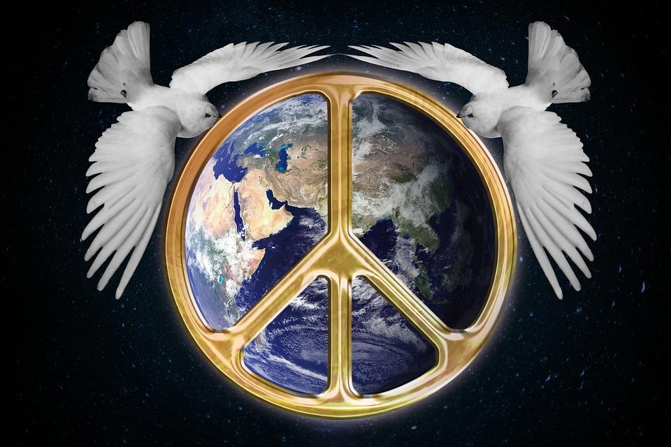 Harmony World Peace Globe Free Image On Pixabay