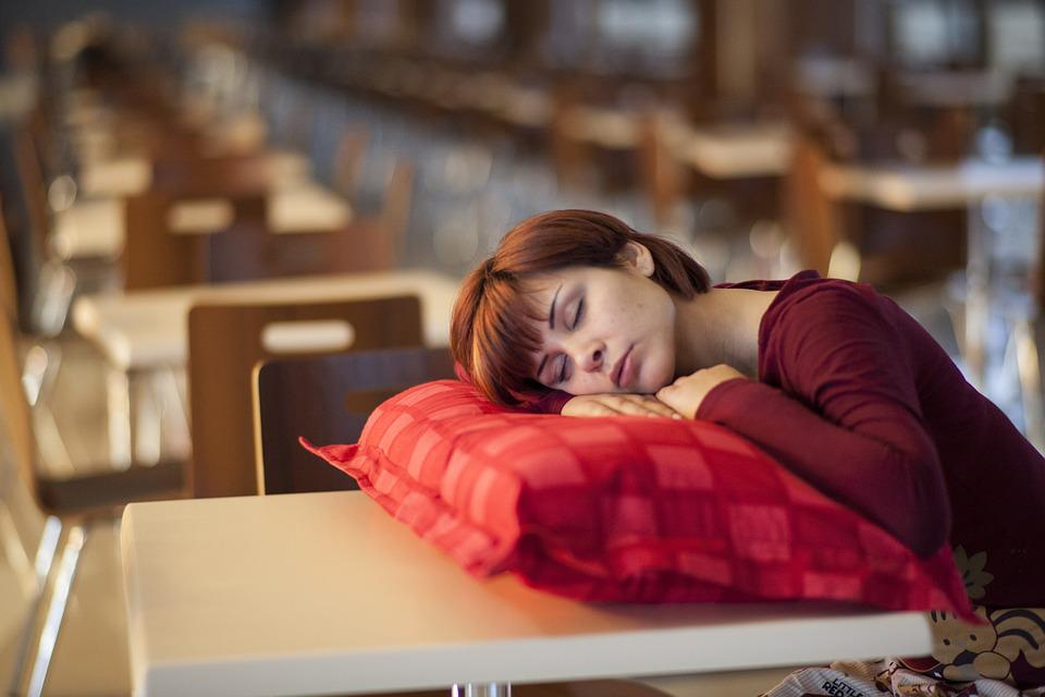 Model, Pillow, Sleep, Sleepwalking, Person