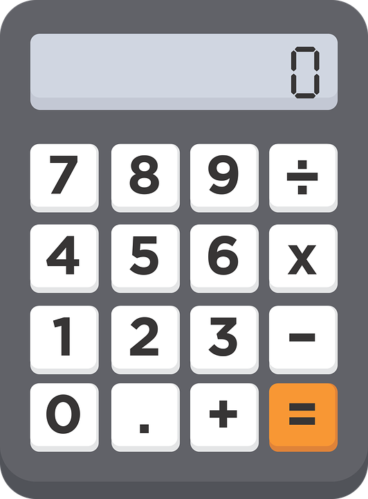 calculator numbers 0 free vector graphic on pixabay