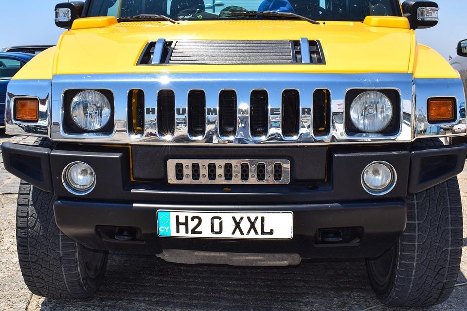 Hummer Auto Fahrzeug Kostenloses Foto Auf Pixabay