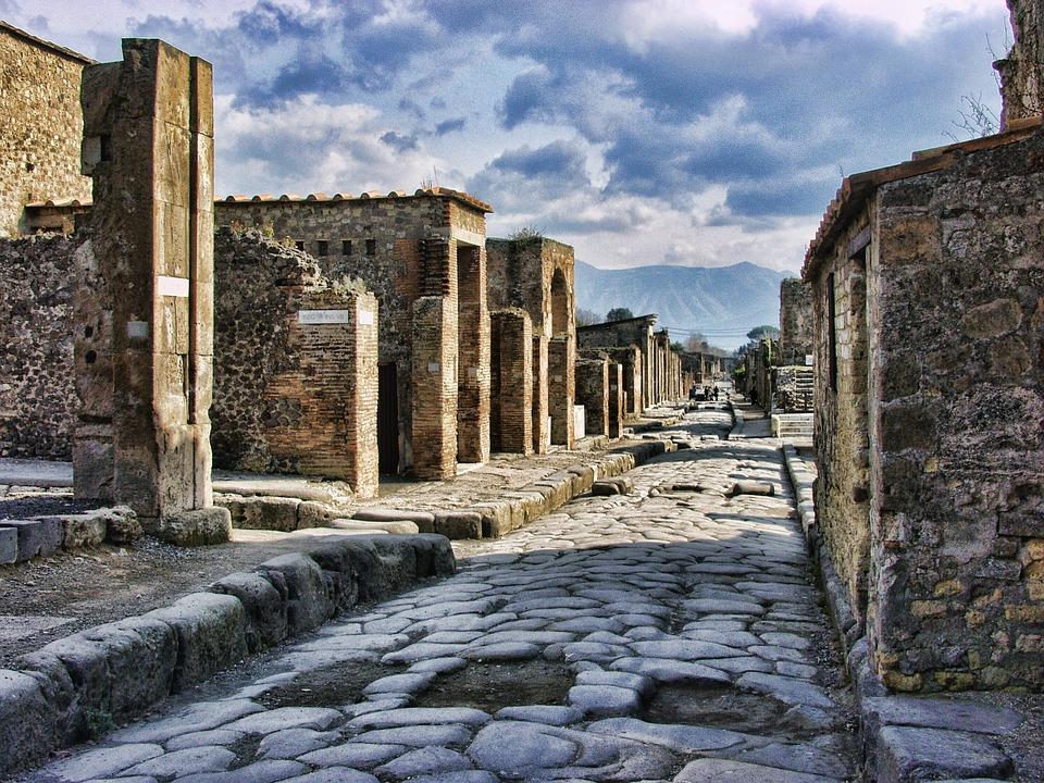 Pompéi et son assassin, le Vésuve - Taols