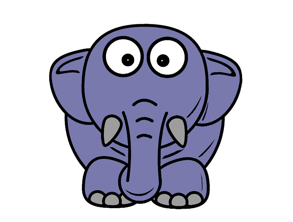 L phant dessin anim caract re image gratuite sur pixabay - Elephant image dessin ...