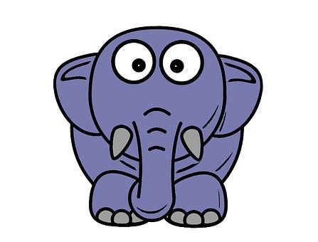 100 Free Cartoon Elephant Elephant Images Pixabay