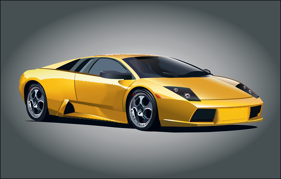 Lamborghini Car Auto Free Vector Graphic On Pixabay