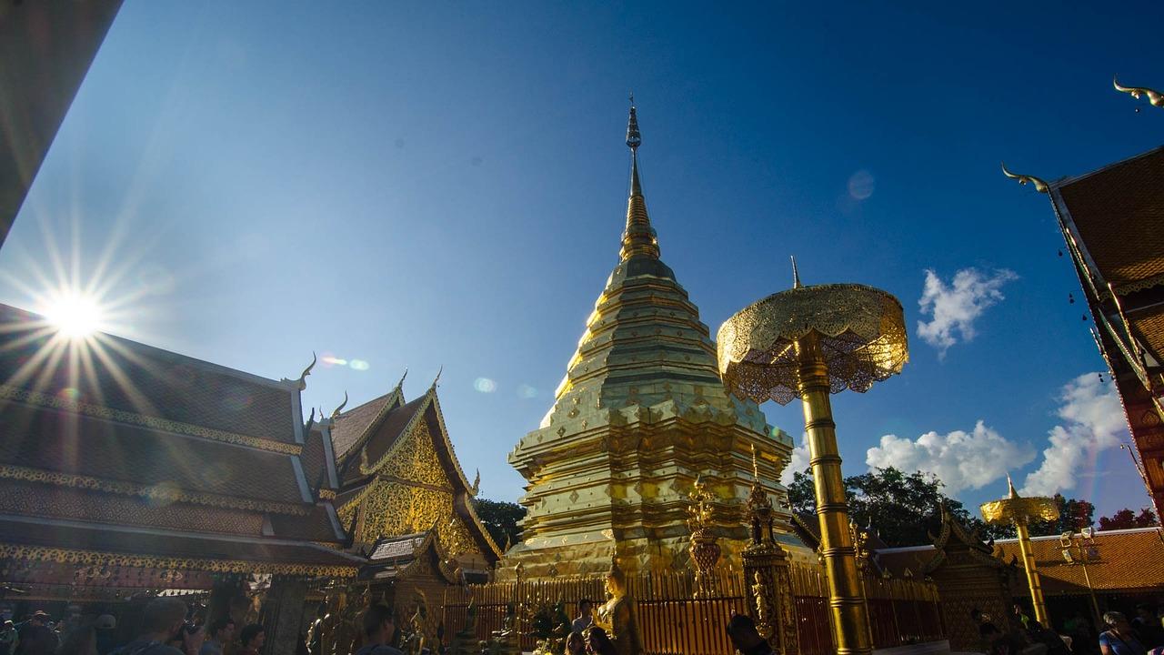 Doi Suthep Chiang Mai Thailand - ภาพฟรีบน Pixabay