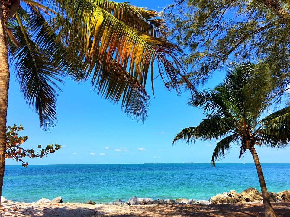 Key West Florida Beach Ocean Water Tropical