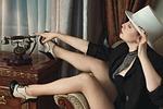 girl, hotel, burlesque