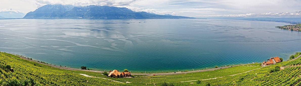 Genève, Lac, Suisse, Lac Léman, L'Eau