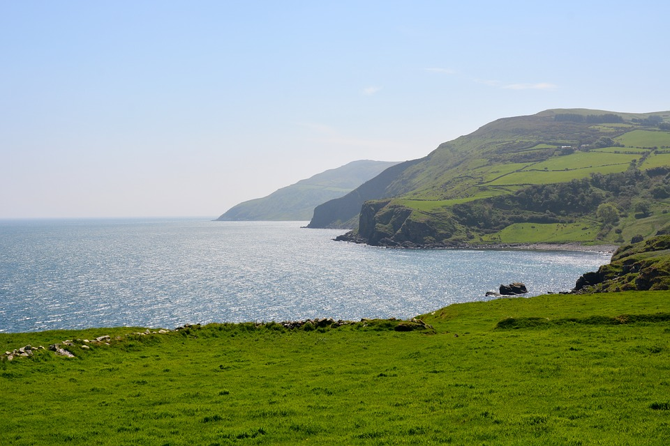 Nature, Ireland, Cushendall, Coast