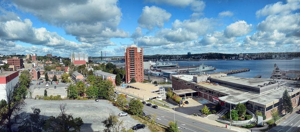 Halifax, Nova Scotia, Canada, City, Harbor, Travel
