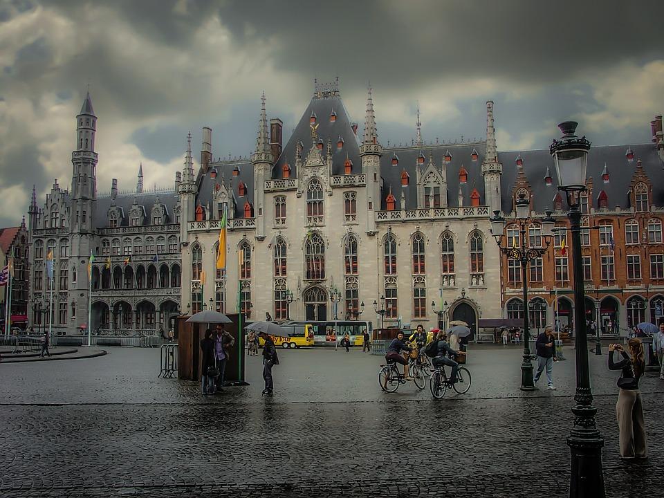 Bruges Belgique La Pluie Photo Gratuite Sur Pixabay