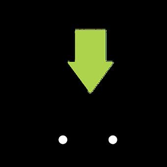 デザイン, アイコンを, 近代的な, インターネット, 記号, 矢印, Web