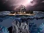 storm, root, lighting