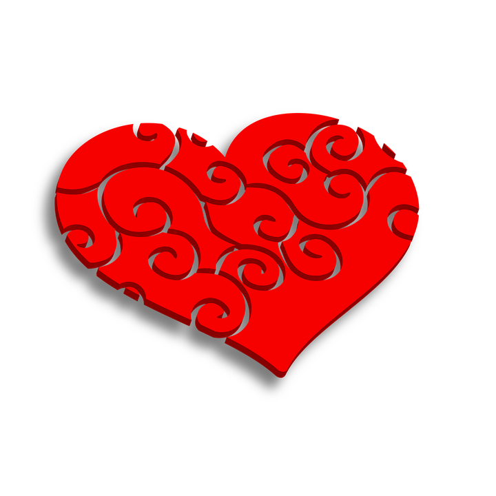 Heart Red Love Free Image On Pixabay