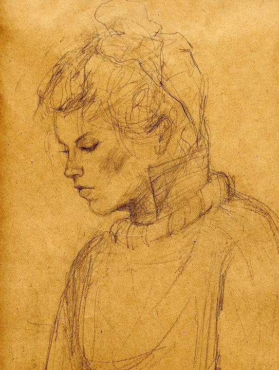 Desenho A Lapis Menina Mulher Imagens Gratis No Pixabay