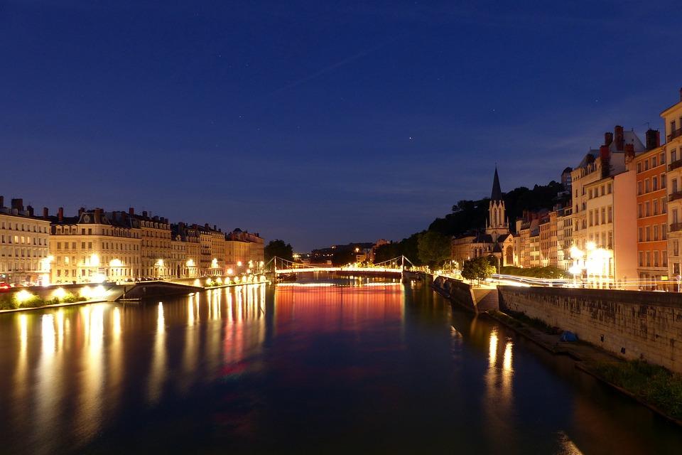 Lyon Saint-Georges Saone - Photo gratuite sur Pixabay