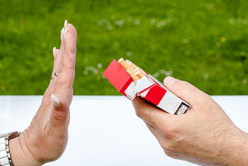 Non Smoking, Cigarette Box, Cigarettes