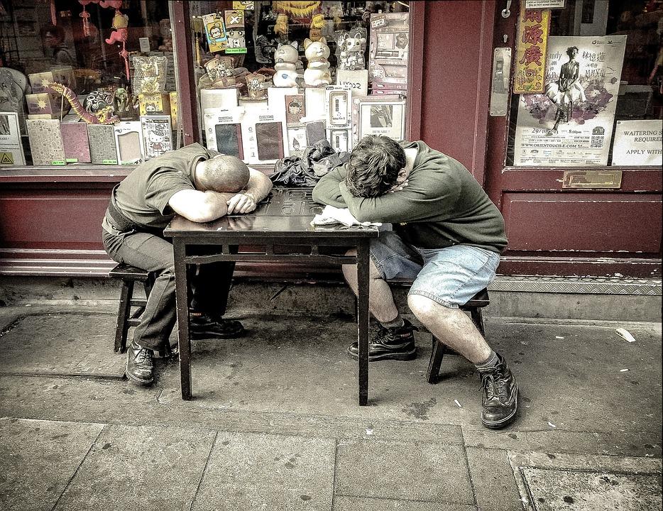 Winks, Schlafen, Schlummer, Arbeitnehmer, Arbeit