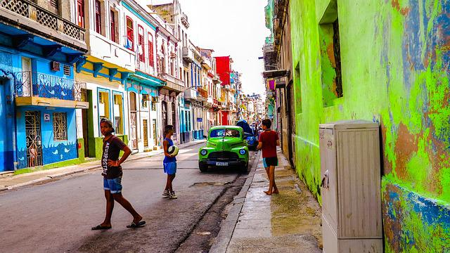 Cuba Havana Old Houses  U00b7 Free Photo On Pixabay