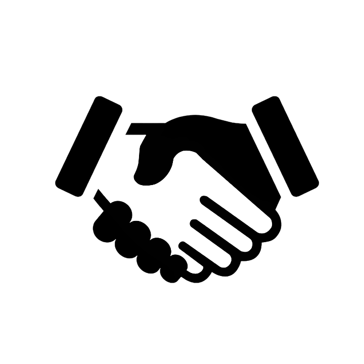 Computer Icon, Handshake, Business