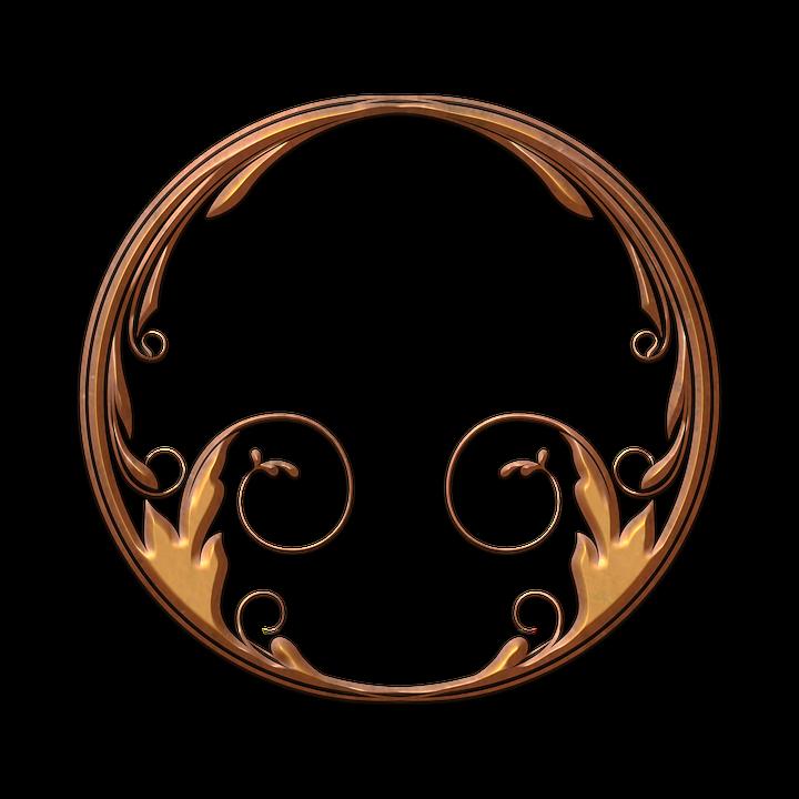 Círculos Oro Art Deco · Imagen gratis en Pixabay