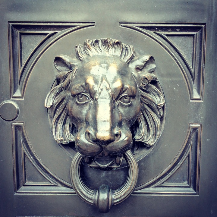 Lion Knocker Door Head Metal Bronze Decoration & Free photo: Lion Knocker Door Head Metal - Free Image on ... Pezcame.Com