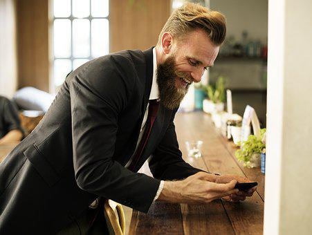 Beard, Break, Business, Cafe, Corporate