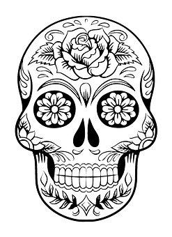 80 Best Sugar Skull Design For Free Hd Pixabay