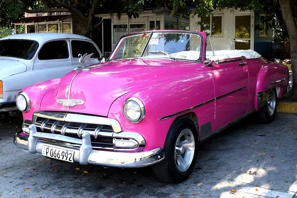 Auto Kuba Jahrgang Kostenloses Foto Auf Pixabay
