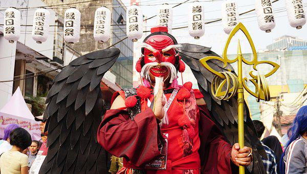 Tengu, Cosplay, Creature, Legend, Myth