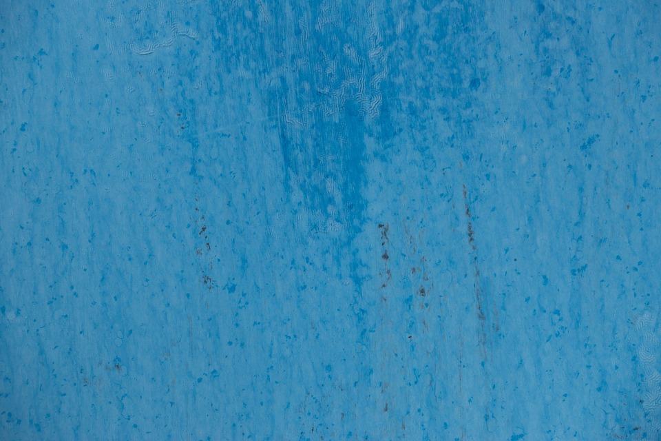 Background Texture Blue Metal Paint Surface