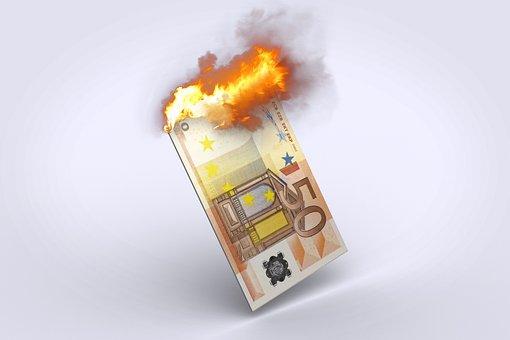Euro, Soldi, Inflazione, Valuta, Finanza